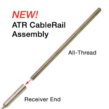 Cablerail all thread receiver assemblies for Www feeneyinc com