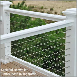 Cablerail By Feeney For Composite Railings