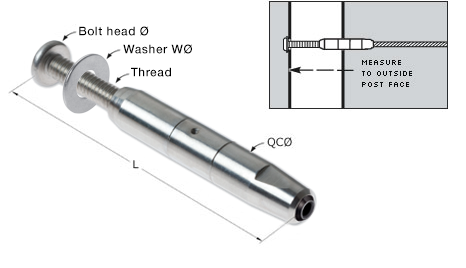 Quick-Connect(R) Internal Thread Adjuster
