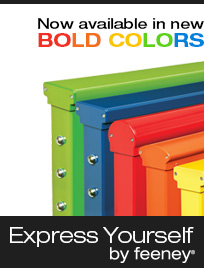 Now in BOLD new colors: Express Yourself!