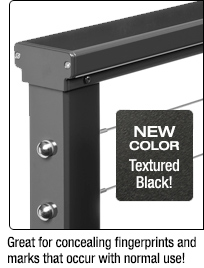 NEW COLOR: Textured Black!