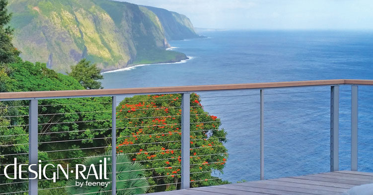 Enter for a chance to win $5,000 of DesignRail Aluminum Railing